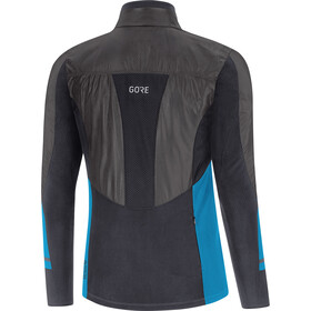 GORE WEAR R5 Gore-Tex Infinium Soft Lined Chemise manches longues Homme, black/dynamic cyan